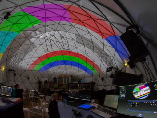 Brisbane Dome Projection For Writers Festival – 2017